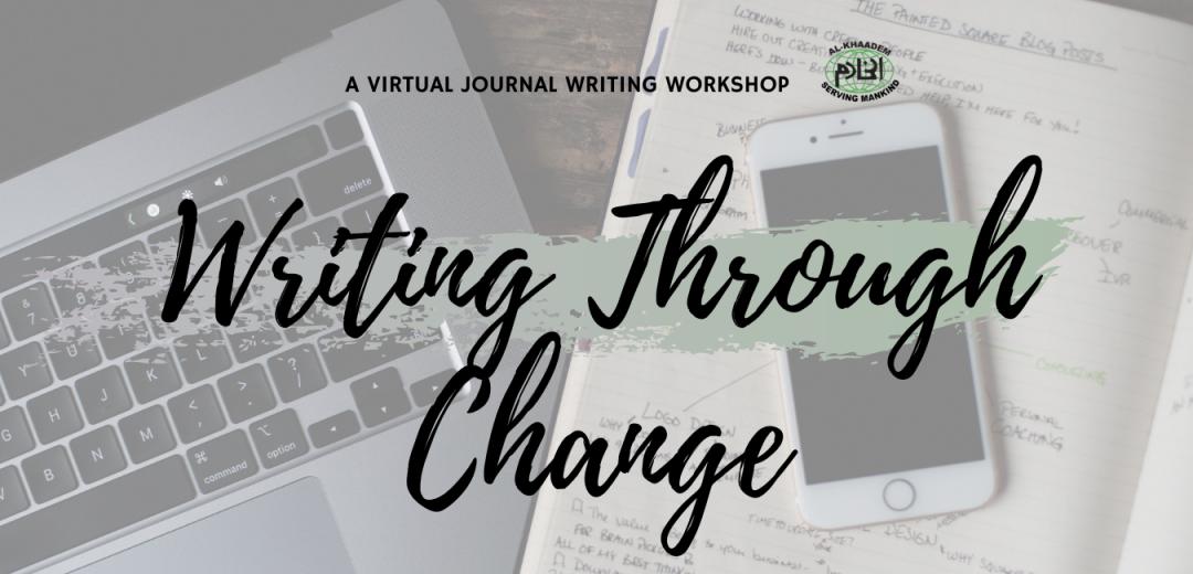 Generic Banner - Writing Through Change